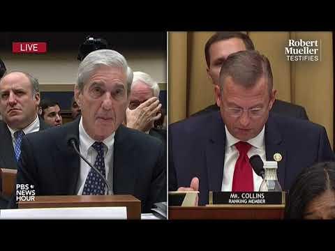WATCH: Rep. Doug Collins' Full Questioning Of Robert Mueller   Mueller Testimony
