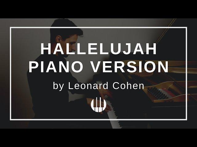Hallelujah by Leonard Cohen arr  Phillip Keveren