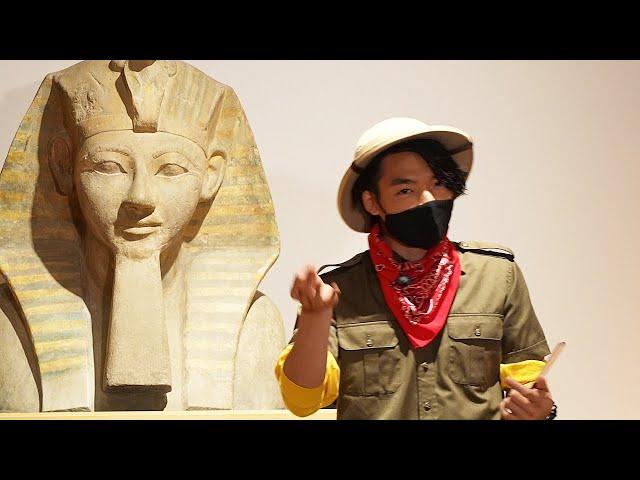 木乃伊どう読む? 東大卒クイズ王が語る古代エジプト