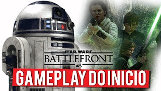 Star Wars Battlefront - Gameplay do Início (XBOX ONE Gameplay PT-BR Português)