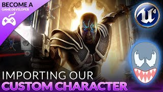 Importing A Custom Character - #4 Creating A Role Playing Game With Unreal Engine 4