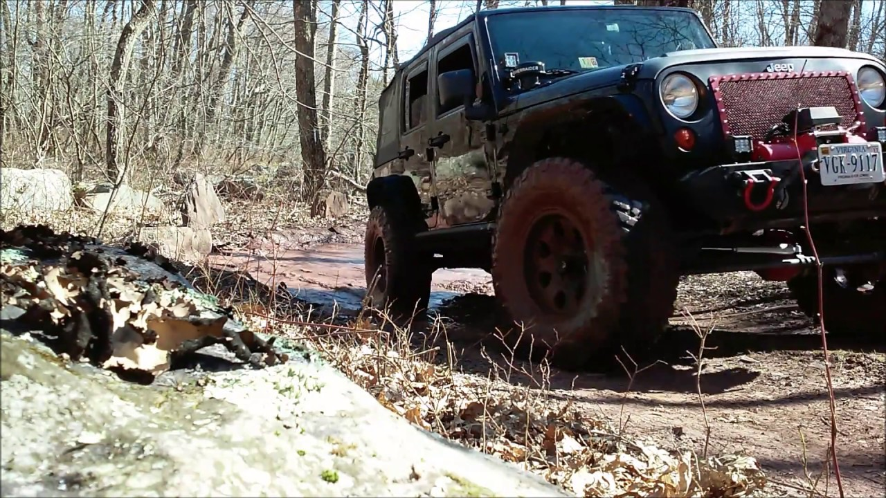 Jeep Trails Potts Mountain Jeep Trail New Castle Va