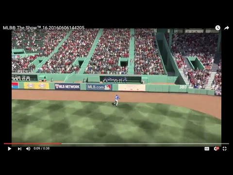 MLB® The Show™ 16 Toronto #498 Bautista Willie Mays-like Catch!!