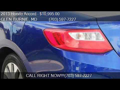 2013 Honda Accord EXL For Sale In GLEN BURNIE, MD 21060 At E