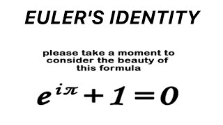 Euler's Formula - A Fundamental Identity of Mathematics