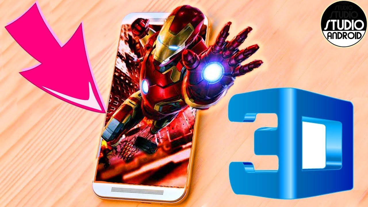 Pantalla 3d Para Cualquier TelÉfono Android: PANTALLA 3D EN CUALQUIER TELEFONO 2018