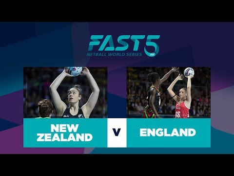 New Zealand v England | Fast5 World Series 2017