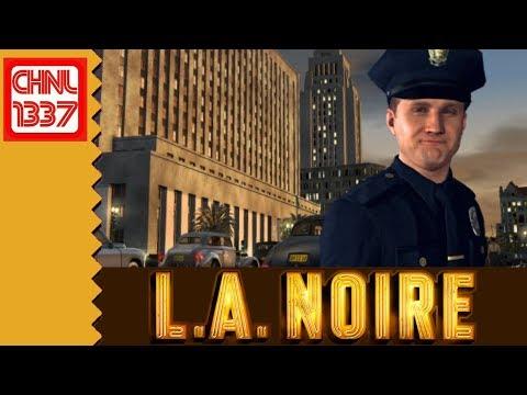 LA NOIRE. a 40's Detective Crime Drama.