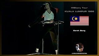 Michael Jackson Earth Song Live Kuala Lumpur 1996 HD
