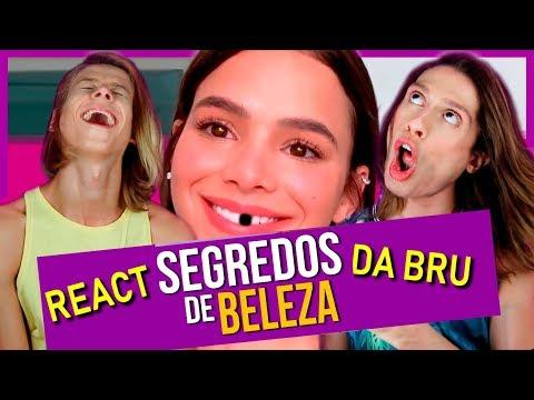 REACT Segredos de Beleza da Bruna Marquezine  DIOGO PARÓDIAS