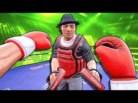 Young Rocky Trained with Old Rocky and This Happened - Creed Rise to Glory VR Rocky Legends DLC 👊