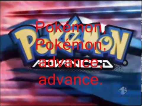 Pokémon advance - Giorgio Vanni e Cristina d'Avena ( Sigla completa + testo )