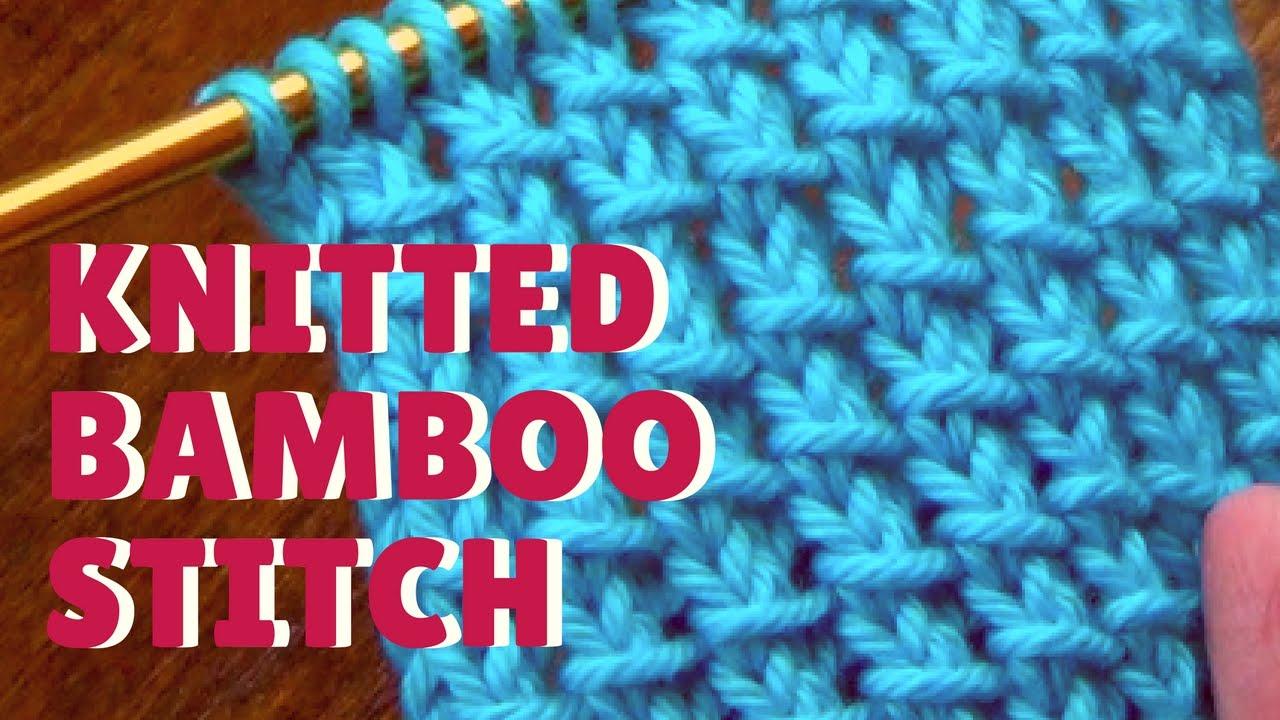 Bamboo Stitch - YouTube