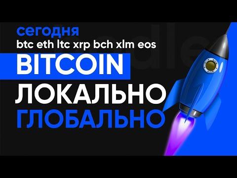 БИТКОИН ПАДАЕТ, ЧТО ДЕЛАТЬ? НЕ ПРОПУСТИ ВАЖНУЮ НОВОСТЬ! ЛОКАЛЬНЫЙ И ГЛОБАЛЬНЫЙ ПРОГНОЗ НА Bitcoin!!!
