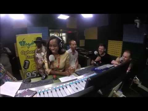 London Afrobeat Collective in Nigeria - Part 2 - Wazobia FM Pidgin Interview (Full)