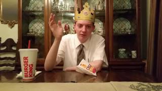 Burger King NEW Cheesy Tots - Review