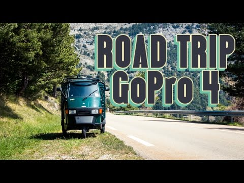 Road Trip Europe | GoPro 4 Black | Piaggio Ape