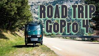 Road Trip Europe | GoPro 4 Black | Piaggio Ape