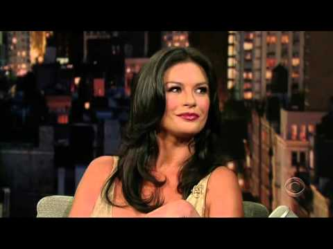 Catherine Zeta Jones - David Letterman 2007 07 25