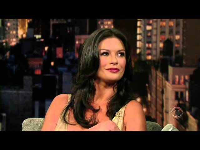 Catherine Zeta Jones - David Letterman 2007 07 25 Travel Video