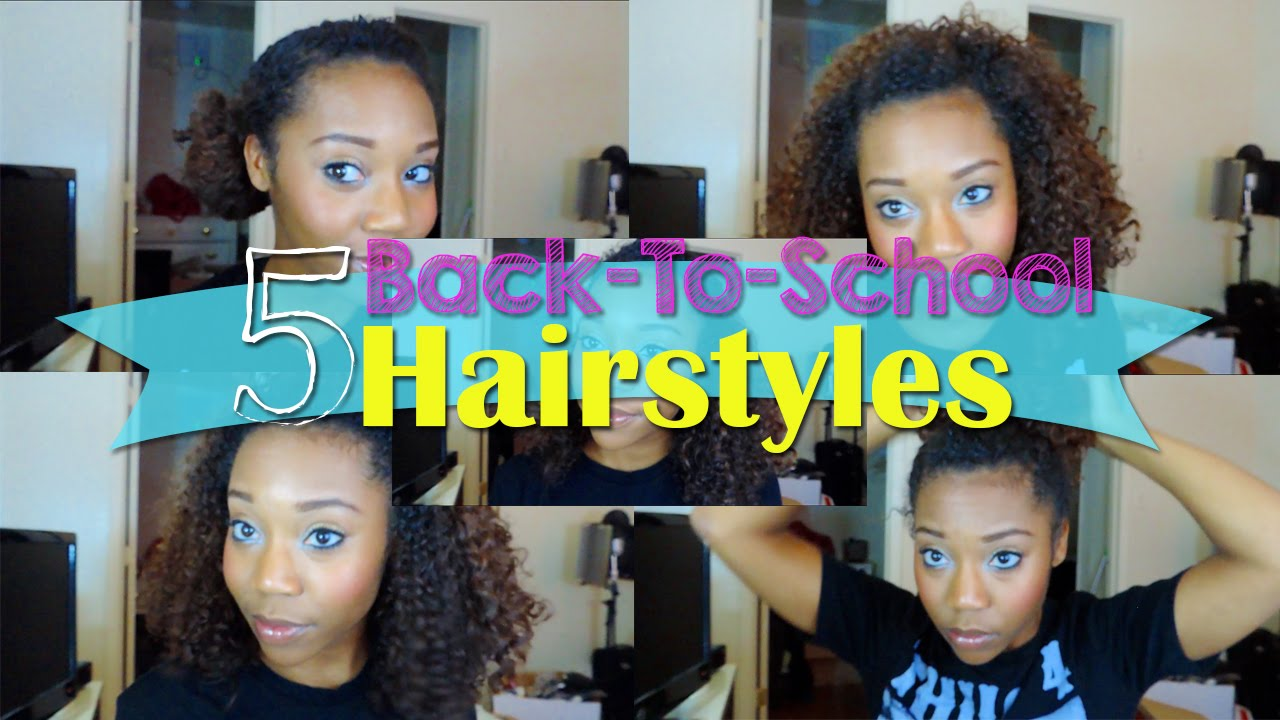 5 -school hairstyles natural