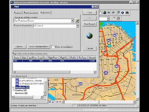 Introduction to ArcGIS Network Analyst