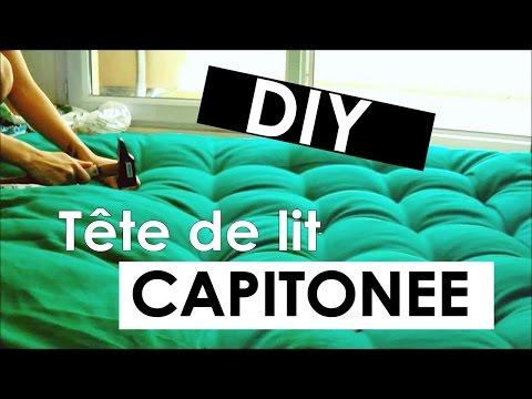 DIY : Faire une tête de lit capitonnée