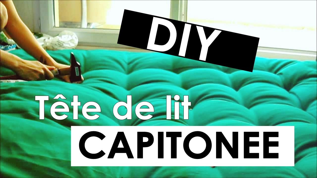 diy faire une t te de lit capitonn e doovi. Black Bedroom Furniture Sets. Home Design Ideas