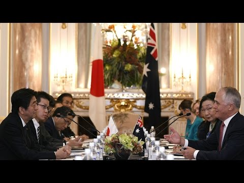 The evolution of the Australia-Japan strategic and defence partnership