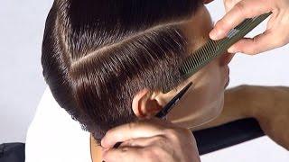 видео Причёски мужские короткие волосы с челкой