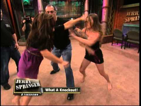 Jerry springer cute girl with big tits amp hard nipples