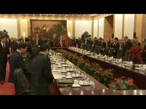 Obama, Hu Jintao meet in Beijing