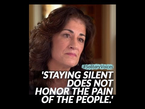 'Staying silent does not honor the pain of the people.' - YouTube