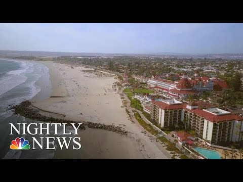 San Diego's Hotel Del Coronado Celebrates Its 130th Anniversary | NBC Nightly News