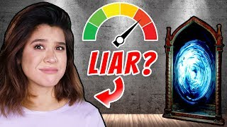 TRAPPED in MAGIC LIE DETECTOR SAFE HOUSE (Truth or Dare CHALLENGE to Escape!)