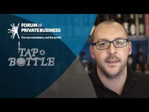 Forum of Private Business Member Testimonial - Tap & Bottle