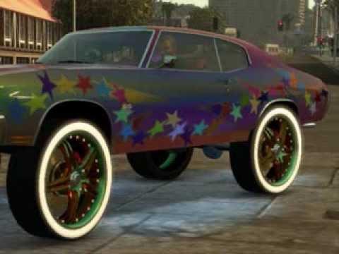 Car Show Chevy Chevelle Starpaint Big Rims By Sfd Custom