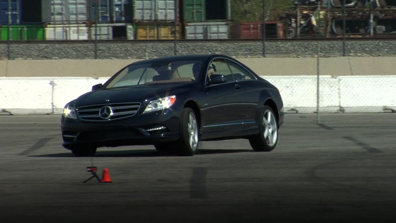 2011 Mercedes-Benz CL 550 Track Test Video -- Edmunds.com