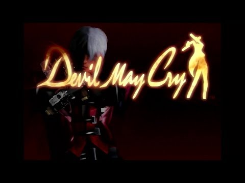 Devil May Cry - Title Screen (Nintendo Switch)