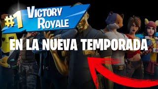 TEMPORADA 2- PRIMERA VICTORIA MAGISTRAL *INCREÍBLE*| Fortnite Battle Royale