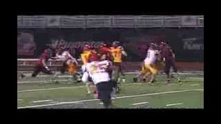 Football highlights from the Scout team game of the University of G...