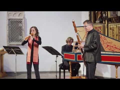 A.Vivaldi: Sonata a, RV 86 /Stephanie Bosch, Rainer Johannsen, Wolfgang Kostujak (La Gioia Köln)live