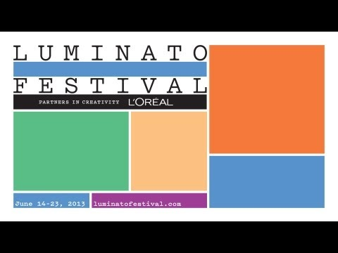 2013 Luminato Festival Programming Announcement and Branding Unveil (Full Broadcast)