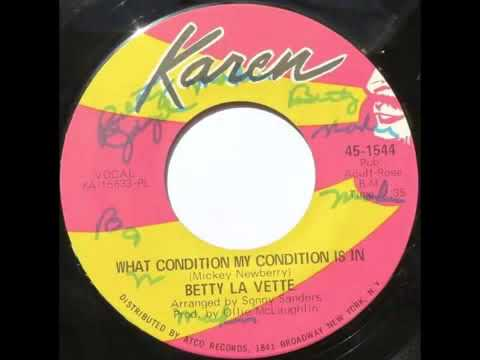 Bettye LaVette - (Just Dropped In) To See What Condition My Condition Is In (1968) (Mickey Newbury)