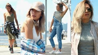 BACK TO SCHOOL OUTFIT IDEAS 2016 | end of summer-early fall fashion lookbook