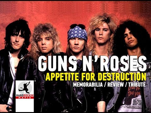 Guns N Roses – Appetite For Destruction  / Memorabilia / Tribute / Review