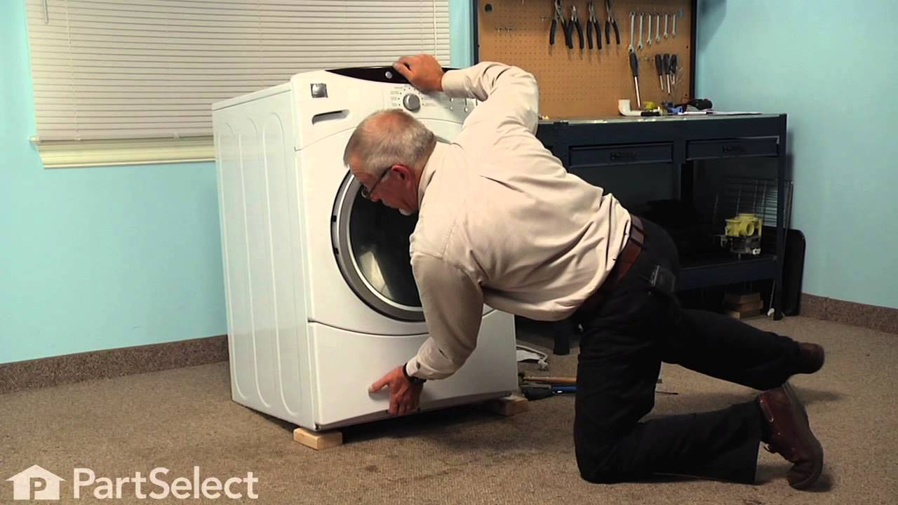 Washing Machine Repair - Replacing the Shock Absorber with Pin (GE on