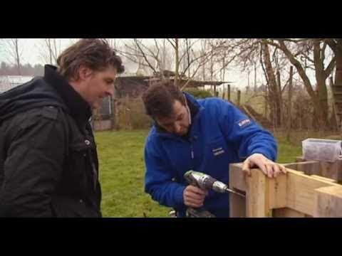 Spanten van hout maken