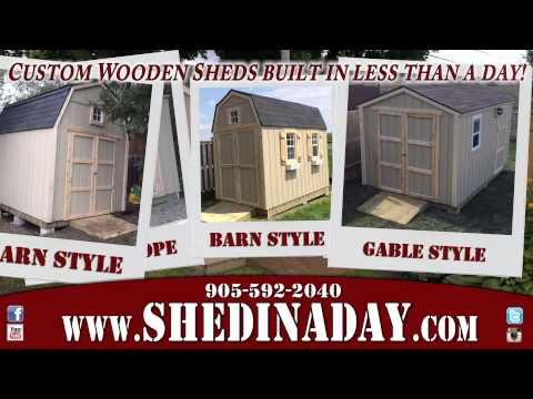 Shed In A Day - 20 Second Commercial