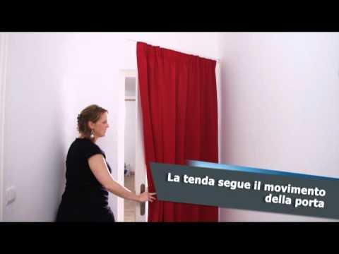 Ridorail ib asta speciale per rivestire una porta - Comment cacher une television ...